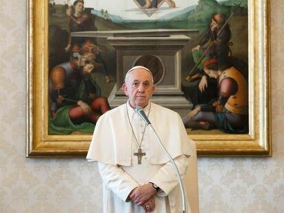 El Papa, en el Vaticano, el 18 de marzo.