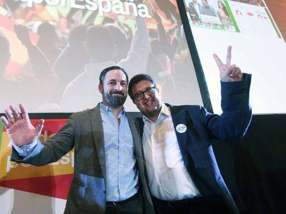 Santiago Abascal y Francisco Serrano: bienvenidos a la nueva Europa.