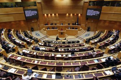 Sesión en el Senado. / EP