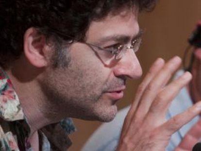 El director y autor Wadji Mouawad, en Santander