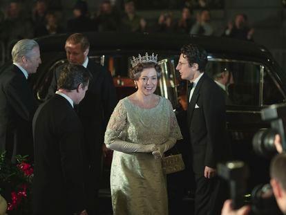 Olivia Colman, en un instante de la cuarta temporada de 'The Crown'