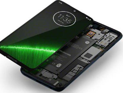 Imagen externa e interna del G7 Plus de Motorola.