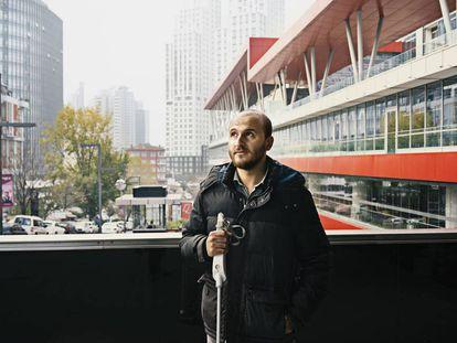 El empresario Kürsat Ceylan, en Estambul.