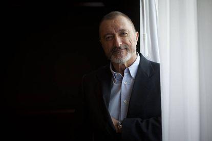 El escritor y periodista español Arturo Pérez-Reverte, en diciembre de 2014.