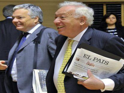 El ministro García-Margallo ve probable que se apruebe en poco tiempo la supervisión bancaria europea, algo imprescindible para España.