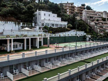 La Casa Johnstone, en Tossa de Mar, en la actualidad forma parte del complejo hotelero Don Juan.