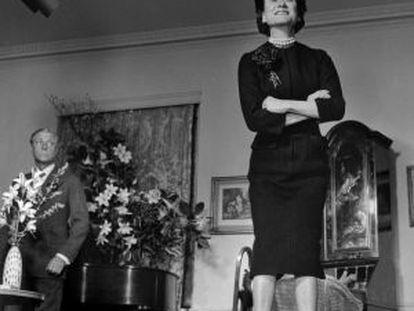 Eduardo y Wallis Simpson, duques de Windsor, fotografiados en 1958