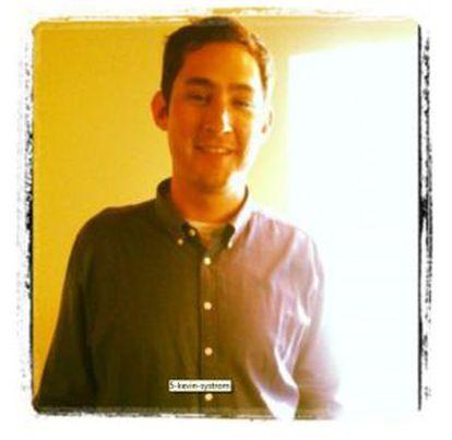Kevyn Systrom, creador de Instagram, en una foto tomada con su aplicación.