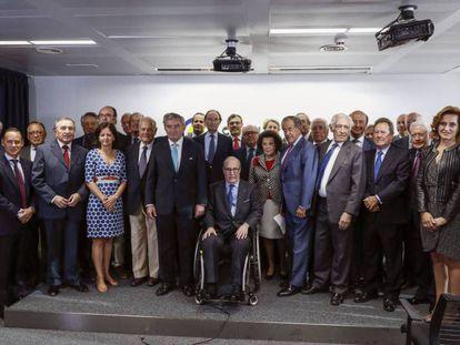 El Círculo de Empresarios reunido este viernes en Madrid. Emilio Naranjo EFE