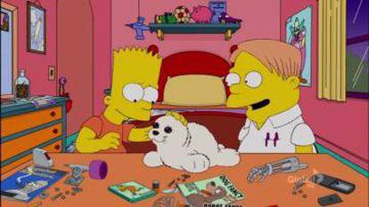 Paro en 'Los Simpson'
