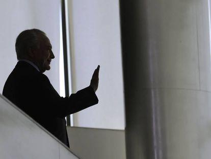 El expresidente Michel Temer en una imagen de diciembre de 2018.