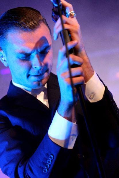 Theo Hutchcraft, cantante de la banda, el miércoles en Madrid.