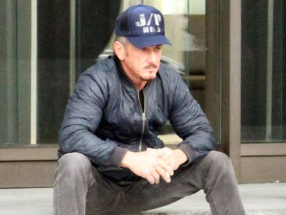 Sean Penn, en Estambul, el miércoles.