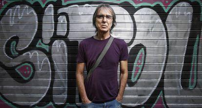 Isaac Cuende, antiguo trabajador de Glovo que ha denunciado a la empresa, el miércoles en Madrid