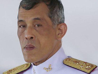 El recién proclamado rey de Tailandia, Vajiralongkorn, en mayo en Bangkok.