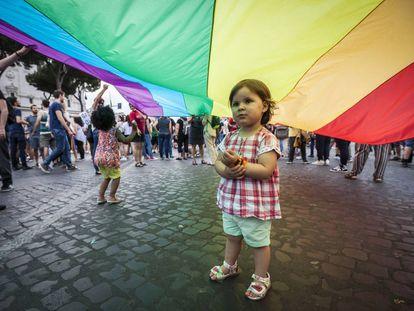 Gay Pride de Roma (2016).