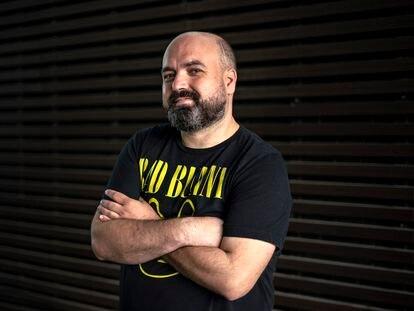 Miguel López, tuitero y autor infantil conocido como El Hematocrítico.
