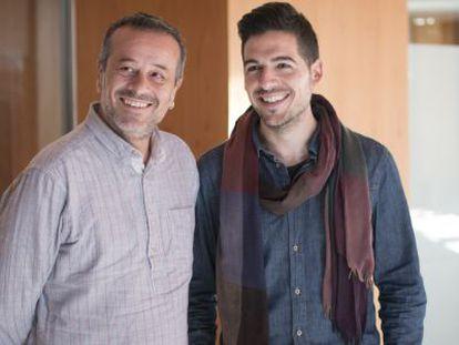 José Antonio Castro (izquierda) y Álvaro García Mancheño.