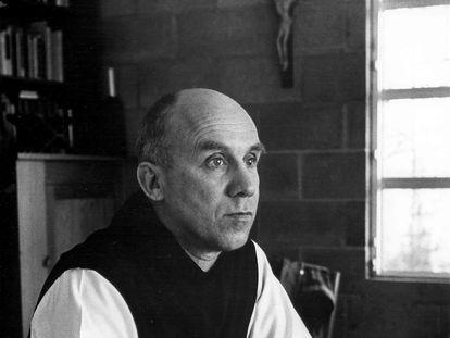 El escritor Thomas Merton.