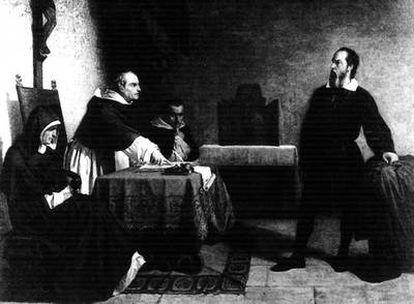 El astrónomo y científico Galileo Galilei defendió la teoría heliocéntrica y fue condenado por la Inquisición.