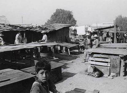 Imagen de uno de los arrabales, Nonoalco, de Ciudad de México, que Buñuel reflejó en <i>Los olvidados.</i>