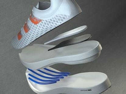 Despiece de la nueva zapatilla de Adidas.