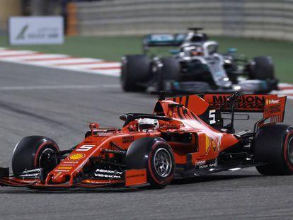 El GP de Bahréin se disputa este fin de semana el circuito de Sakhir