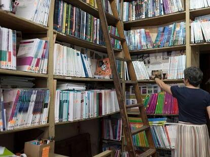 Librería Fortuna, en Madrid.