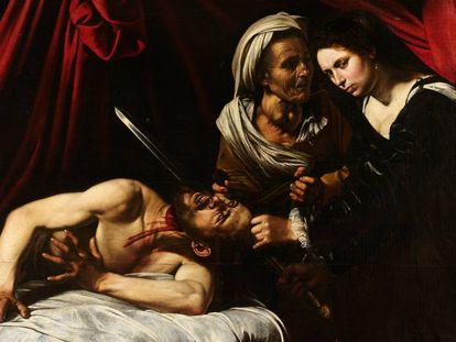 Judith y Holofernes, atribuido a Caravaggio.