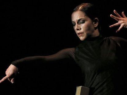 """La bailaora Eva Yerbabuena, durante su espectáculo """"¡Ay!""""."""