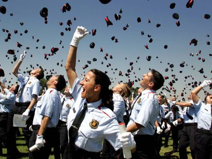 Acto de graduación de la 17ª promoción de Mossos en 2014.