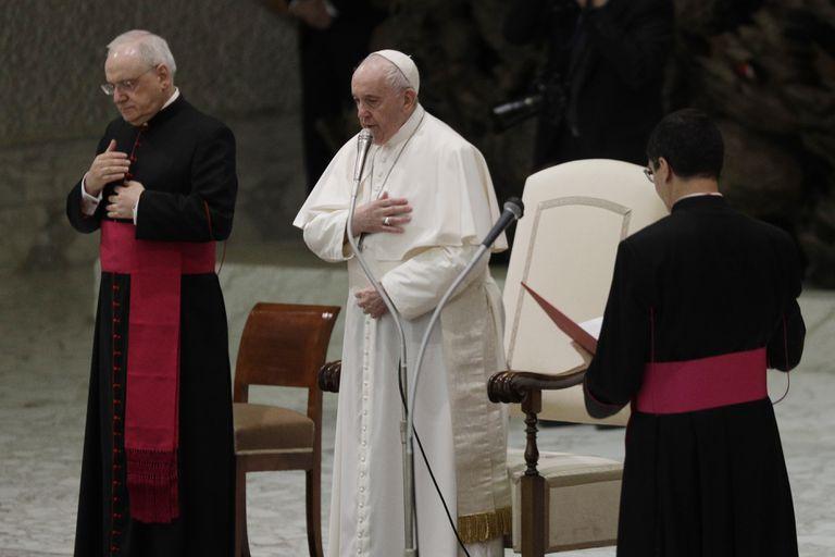 El Papa Francisco durante la audiencia semanal celebrada en el Vaticano el pasado miércoles.