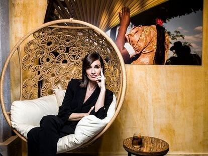 La actriz Paz Vega, en ARCO, el miércoles.