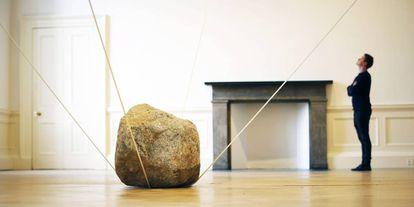 Escultura 'Interconnected Spaces', del Karla Black.