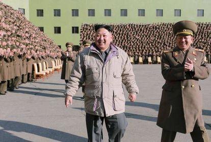 El dictador norcoreano Kim Jong-un en una foto sin datar.