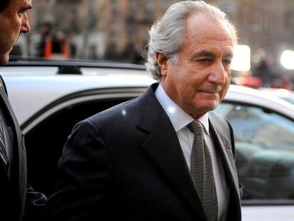 Bernard Madoff, a su llegada a un tribunal de Nueva York, en 2009.