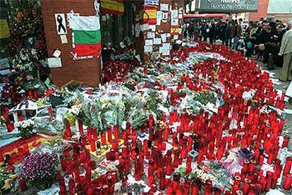 Homenaje a las víctimas del 11-M en al estación de Atocha