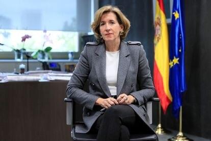 Ana de la Cueva, en abril en Madrid.