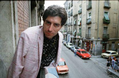 Joaquín Sabina, en 1987.