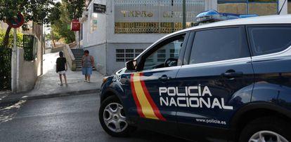 Un coche de policía, en una imagen de archivo.