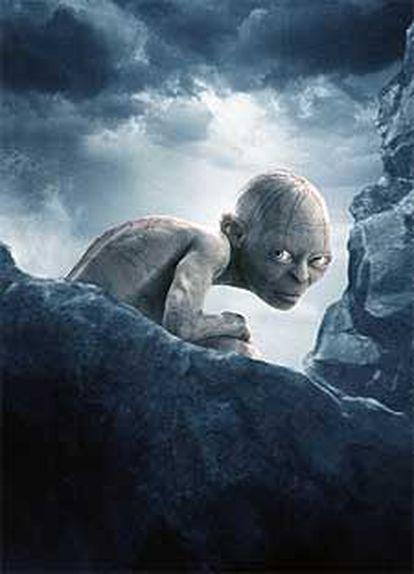 Gollum, en una imagen de 'El retorno del rey'.