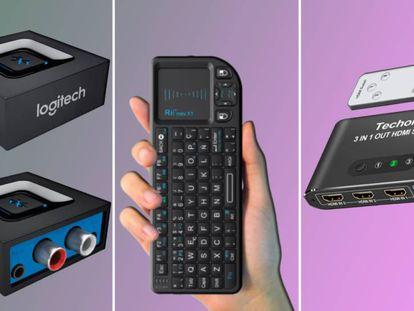 Una selección de accesorios y pequeños 'gadgets' para poner a punto los aparatos de música, audio y PC antiguos del hogar.