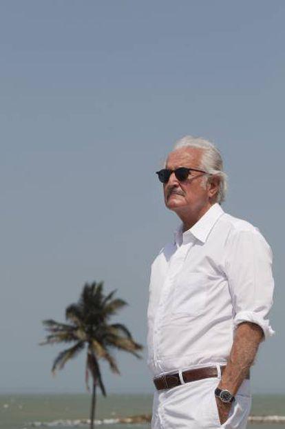 Carlos Fuentes, en Cartagena de Indias, en 2011.