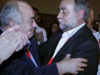 Manuel Pastrana y Francisco Fernández Sevilla, en mayo del año pasado.