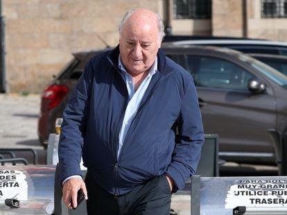 El empresario Amancio Ortega, en A Coruña, en 2018.