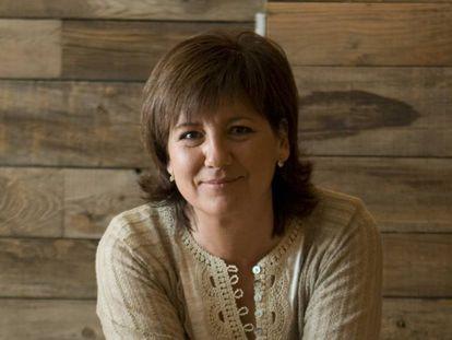 La periodista Olga Viza.