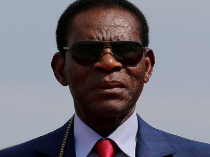 El presidente de Guinea Ecuatorial, Teodoro Obiang.