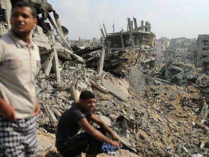Israel anunció a primera hora que sus soldados se retiraban durante la tregua / En la foto (Reuters), Ciudad de Gaza | Vídeo: Reuters