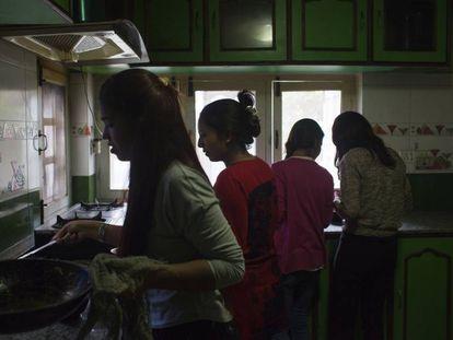 Todas las mujeres que trabajan en SASANE son supervivientes de la trata de personas.