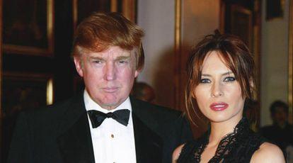 Donald y Melania Trump asisten a una gala en Nueva York hace años.